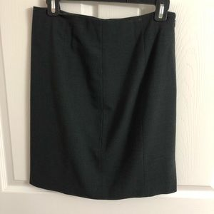 Aqua Suit Pencil Skirt